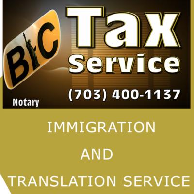 BIC TAX SERVICE