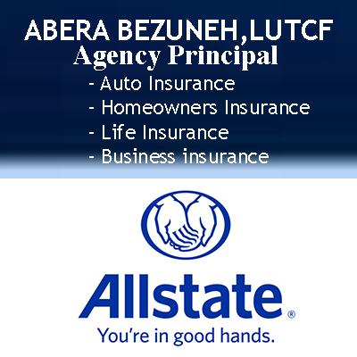 Abera Bezuneh: Allstate Insurance